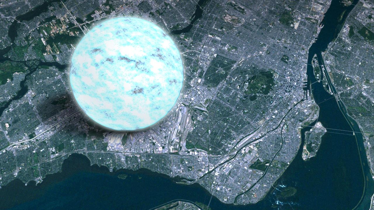 Neutron Star Montreal  NASA's Goddard Space Flight Center