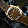 Military Bronze, Brown Dial