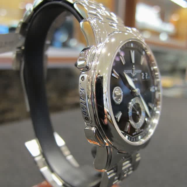 GMT Big Date Stainless Steel