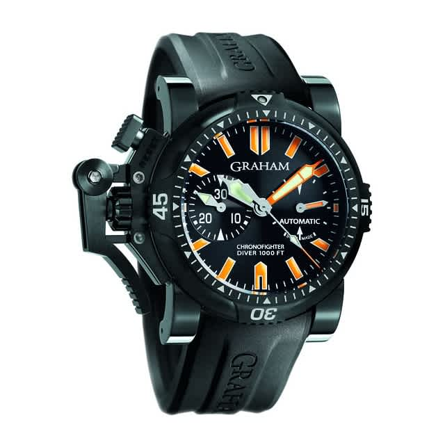 Chronofighter Oversize Diver Deep Seal