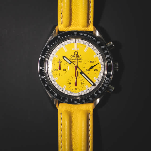 "Omega Speedmaster ""Schumacher"" Yellow"