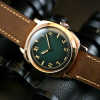 Military Bronze, Green Dial
