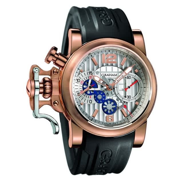 Chronofighter R.A.C. Skeleton Red Gold Silver dial