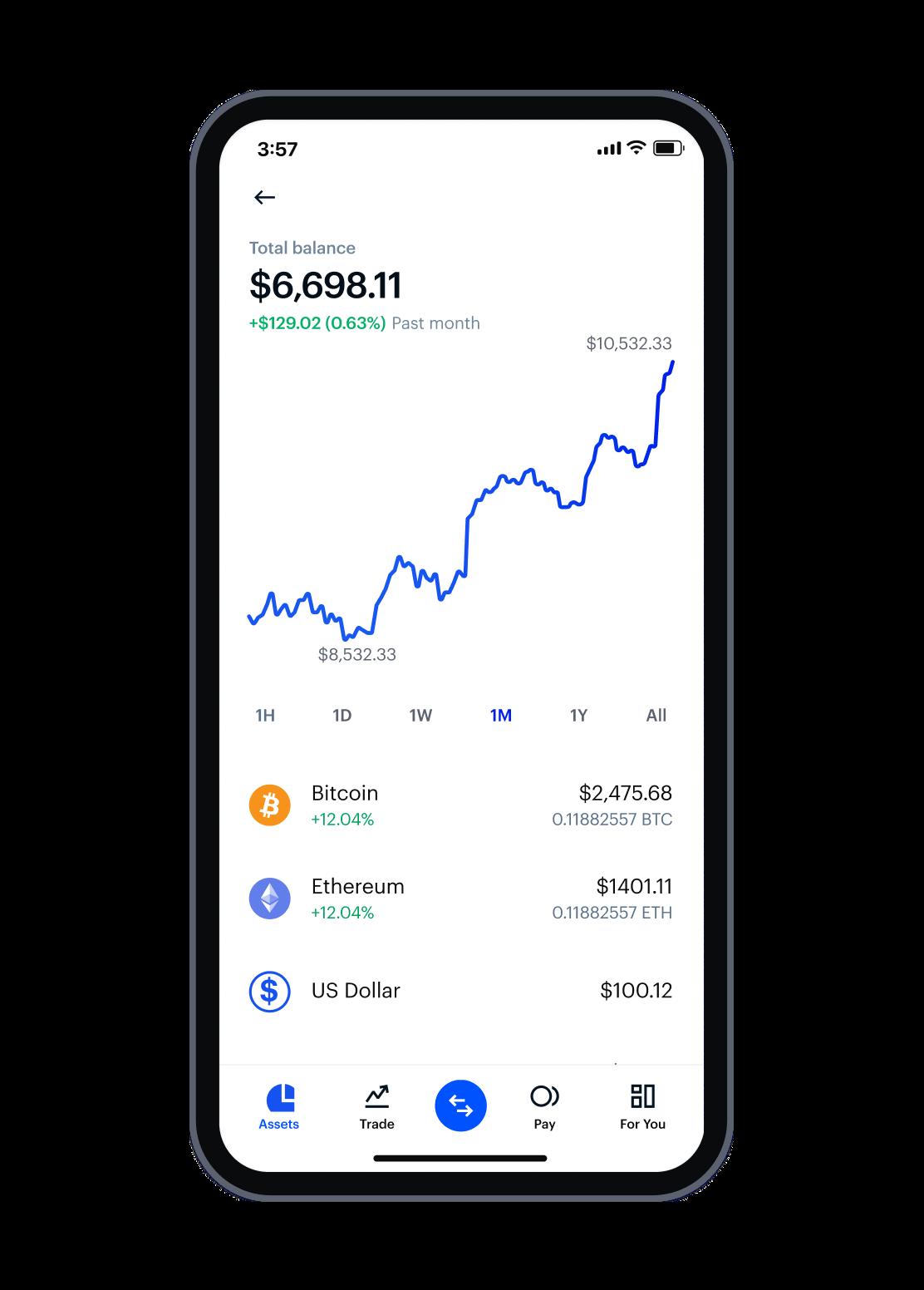 Asset - mobile app