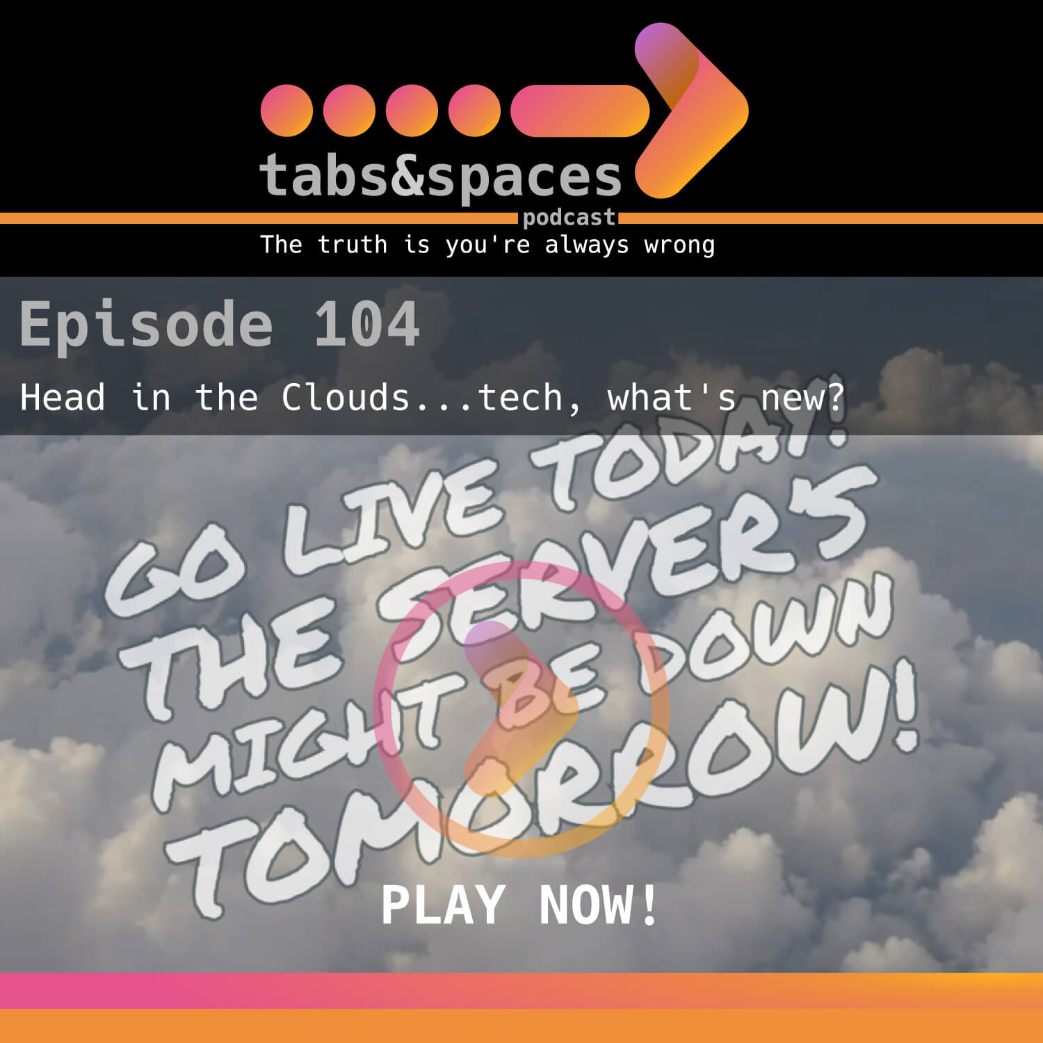 Episode 4 is about Cloud technologies and what they can and can't do for you