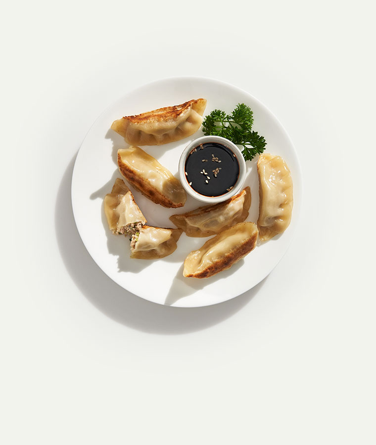 Pork & Vegetable Potstickers