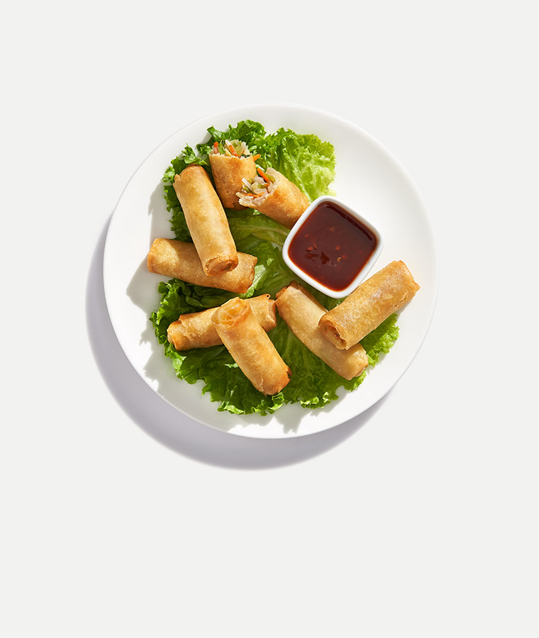 Mini Vegetable Spring Rolls
