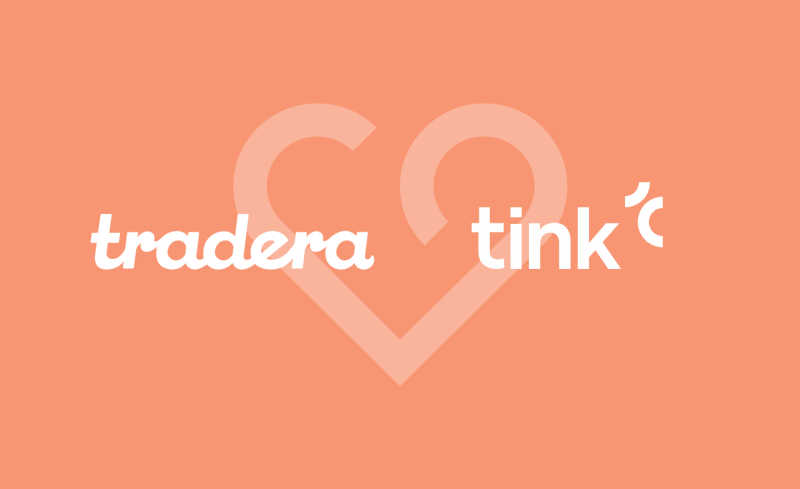 Tradera partnering with Tink