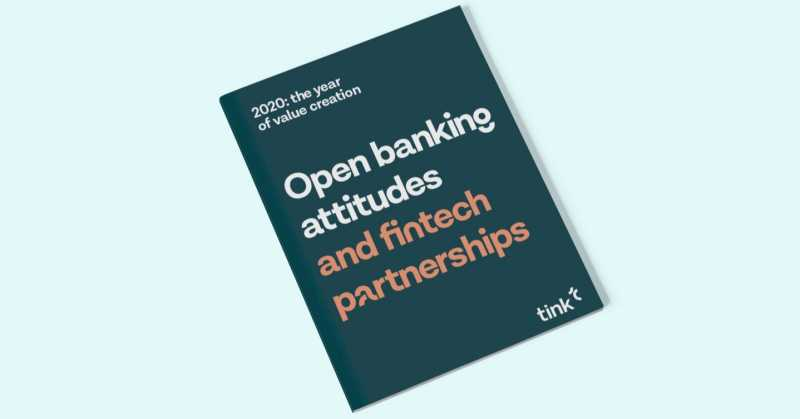 Open banking attitudes and fintech partnerships - survey report