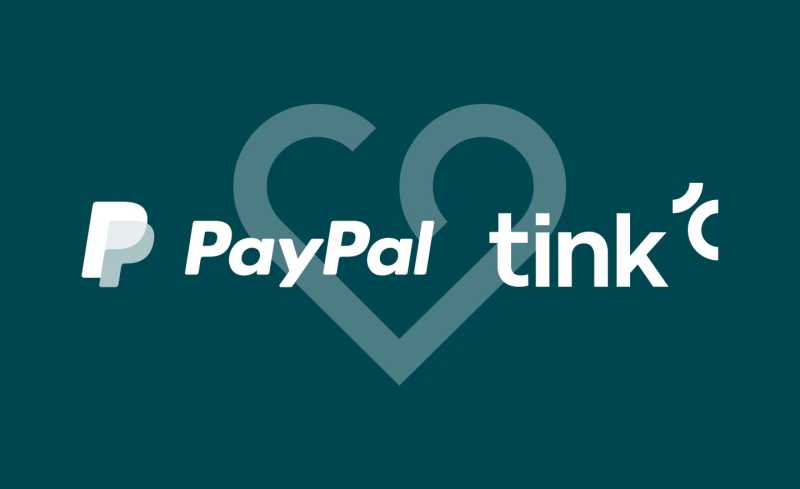 PayPal and Tink partnership