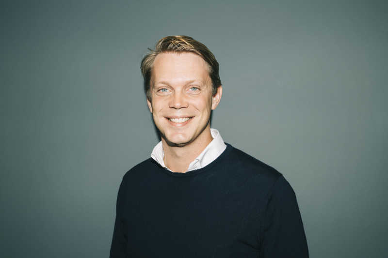 Co-founder Fredrik Hedberg (CTO)