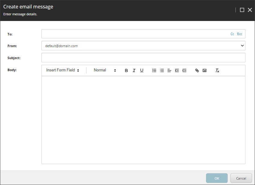 Sitecore 10.1 Send Email Submit Action