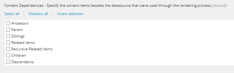 Sitecore 10.1 Cache Clearer Dependencies