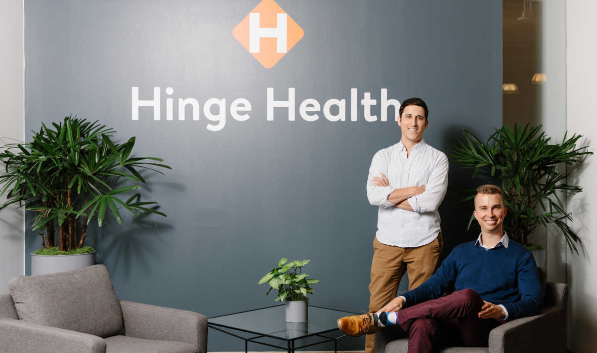 Hinge Health closes $90M Series C to help millions of Americans with chronic back and joint pain