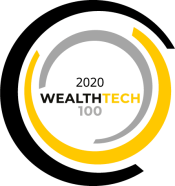 Award Logo - WealthTech 100 2020