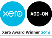 Award Logo - Xero Add-on 2014