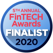 Award Logo - 5th Annual FinTech Awards 2020