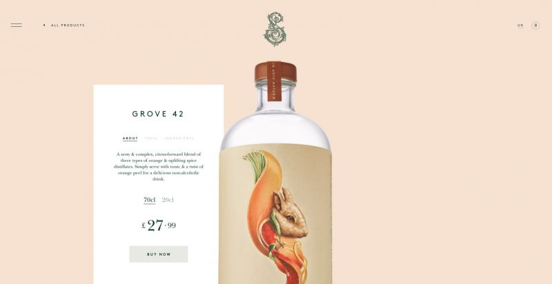 Best drinks brands on Shopify Seedlip