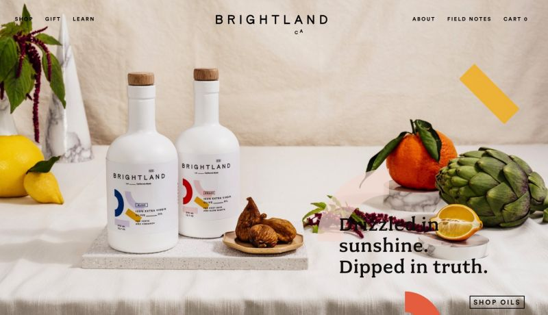 Best drinks brands on Shopify Brightland