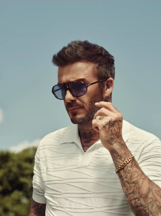 David Beckham Eyewear Work Card