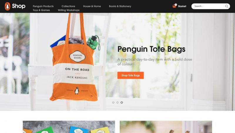 Best Shopify stores Penguin