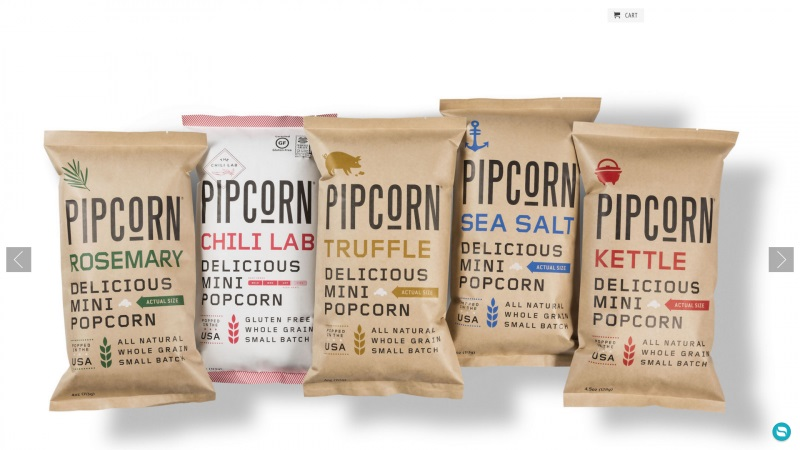 Best Shopify stores Pipcorn
