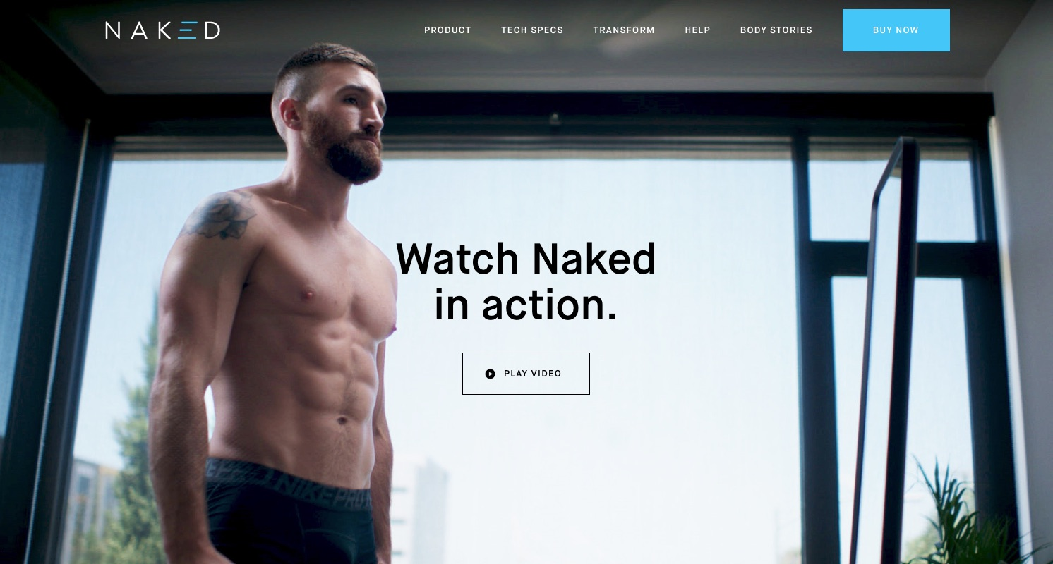Headless e-commerce build Naked Labs®