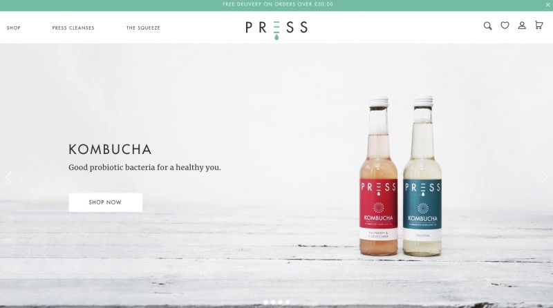 Best drinks brands on Shopify Press London