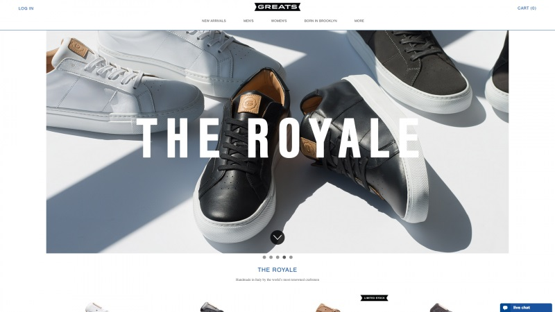 Best Shopify stores Greats