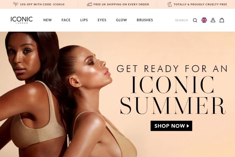 Best Shopify Plus stores iconic