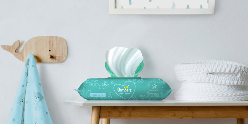 Pampers® Baby Fresh Scent Wipes