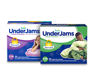 Pampers Underjams Overnight underwear
