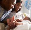 Newborn baby first poop