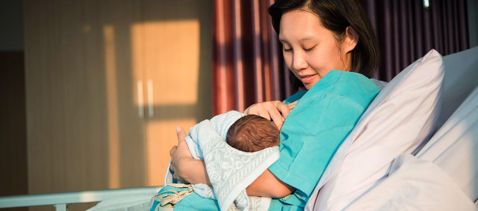 Colostrum for newborns