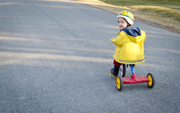 Toddler Bike Safety