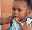 What should I do if my baby knocks a tooth out?