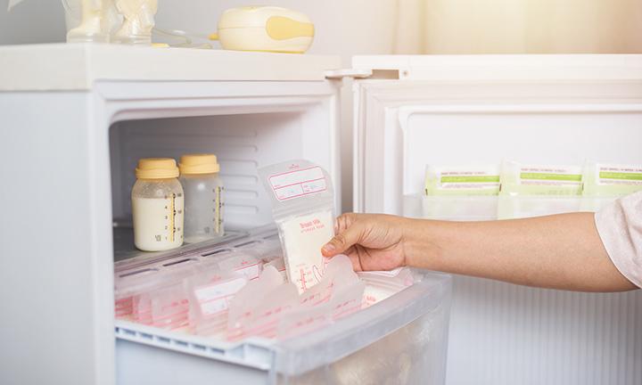 Breast milk storage