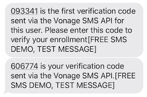 Configure Vonage as MFA SMS Provider Test MFA Flow
