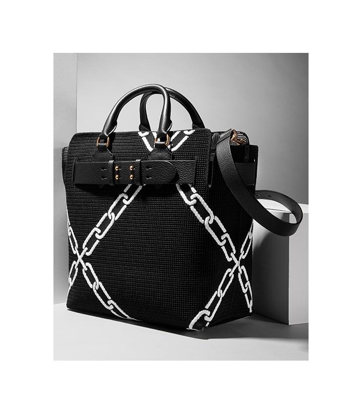 ccb39e212991 House Check Link Bag Black. 789 € · Burberry  SS 2019