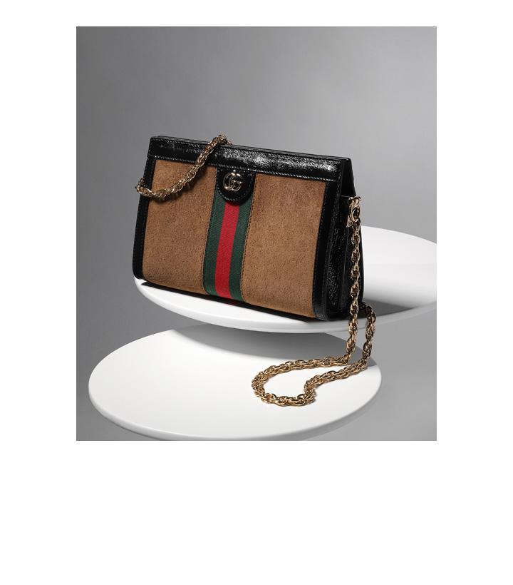 71c94bd0420 Nostalgucci: deze klassiek aandoende bag met fraaie retrodetails maakt van  elke tassenliefhebber meteen een stijlicoon