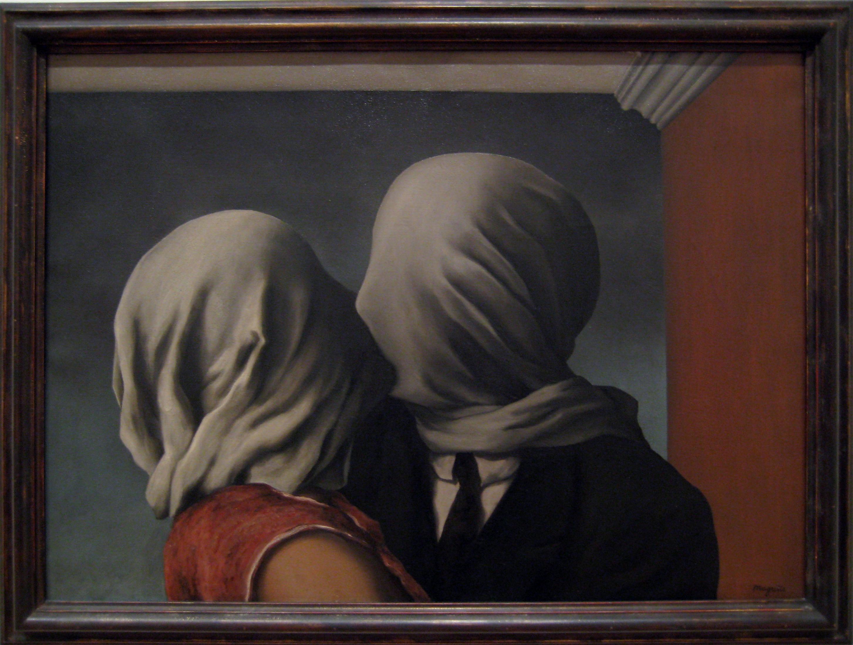 René Magritte: The Lovers Paris (1928)