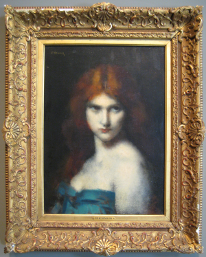 Jean-Jacques Henner: Study of a Head of a Woman