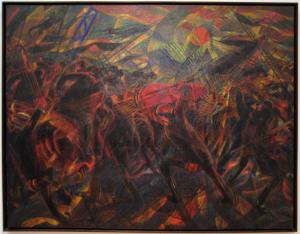 Carlo Carrà: Funeral of the Anarchist Galli