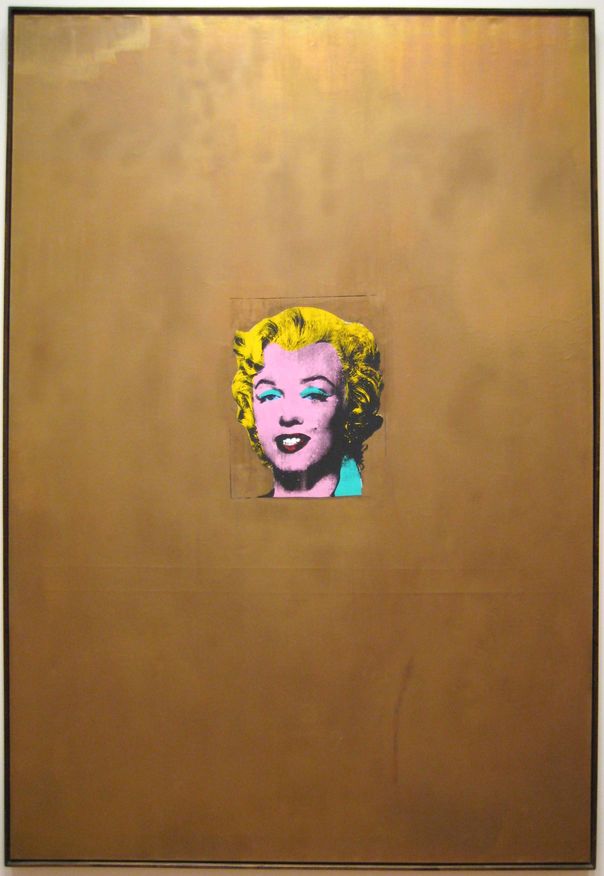 Andy Warhol: Gold Marilyn Monroe (1962)