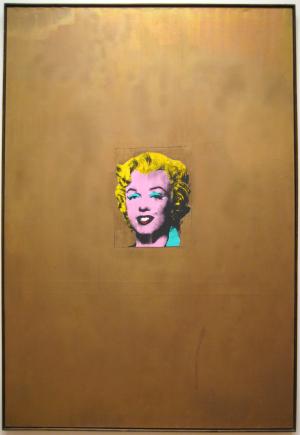 Andy Warhol: Gold Marilyn Monroe
