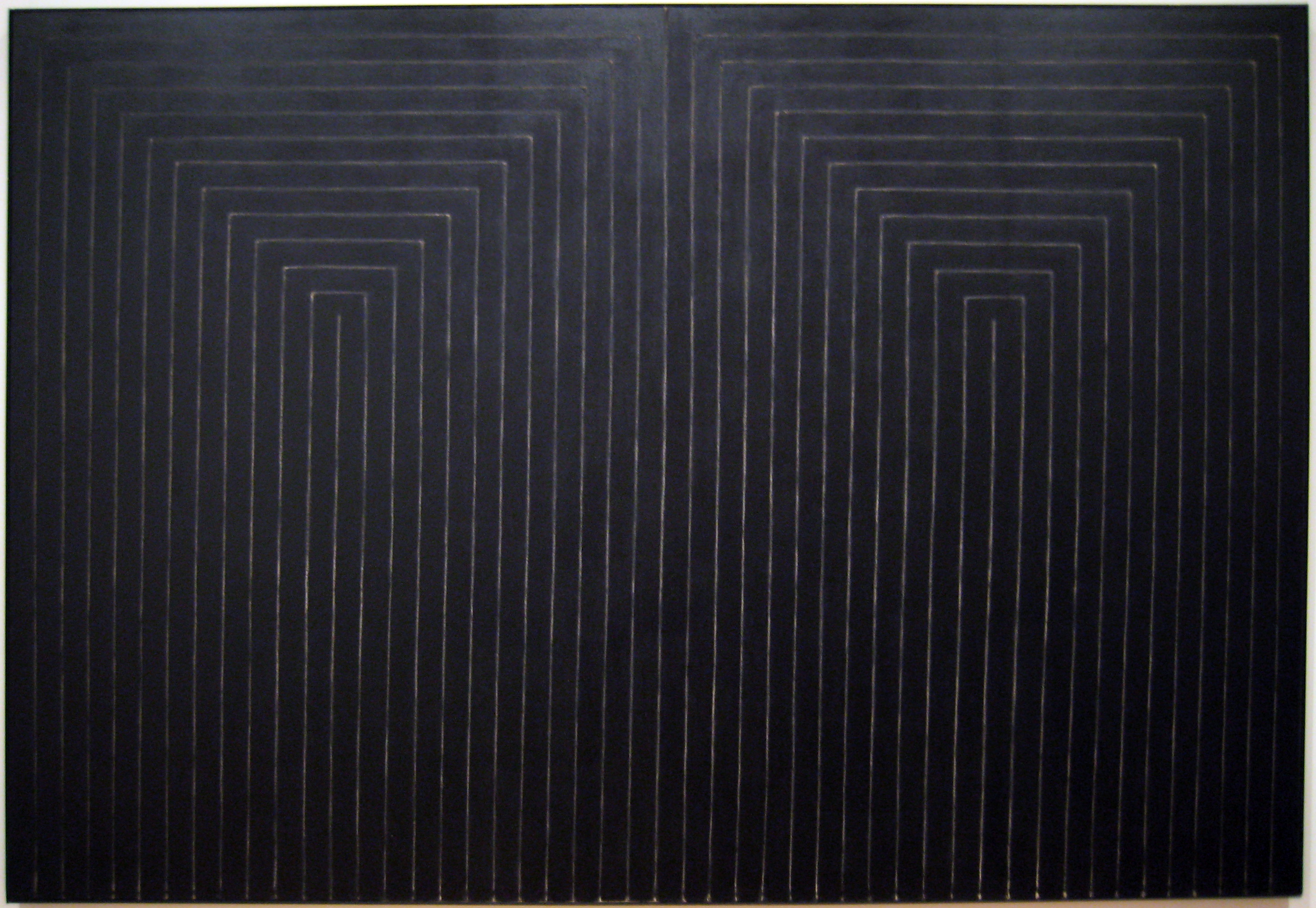 Frank Stella: The Marriage of Reason and Squalor, II (1959)