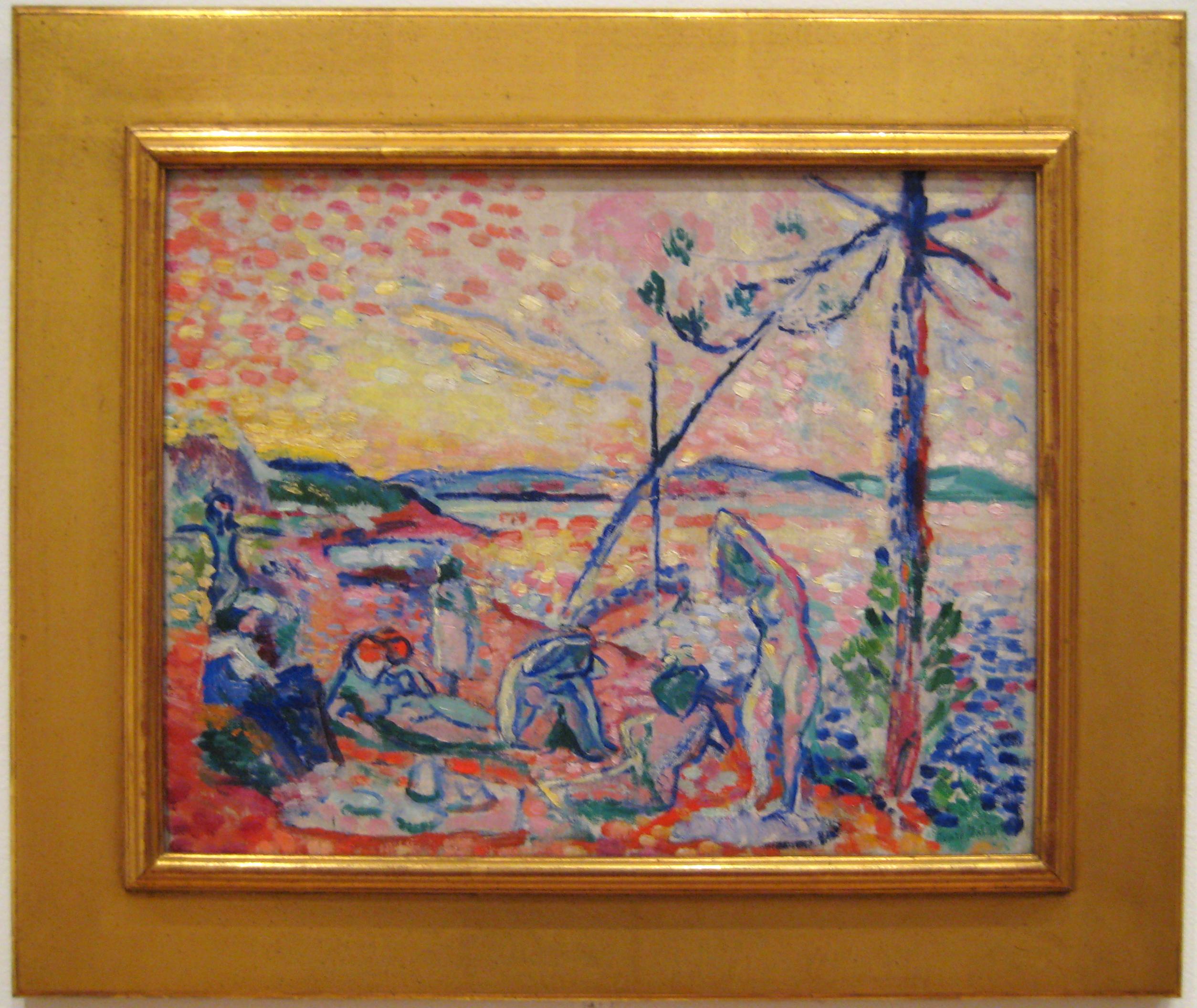 Henri Matisse: Study for Luxe, Calme et Volupté (1904)