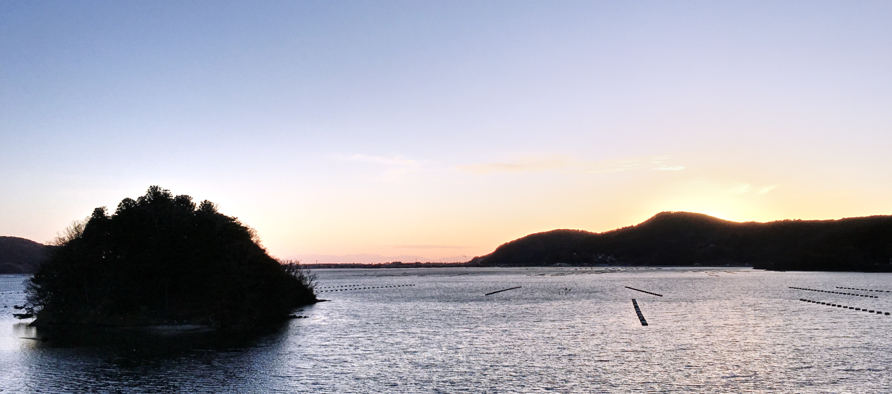 Sunset in Onagawa