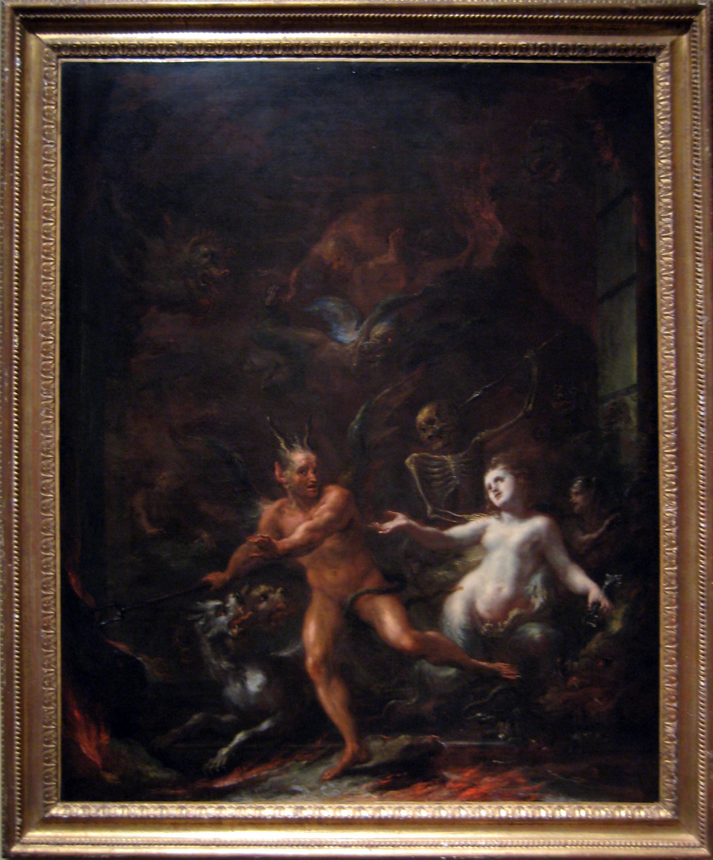 Giacomo Del Po: Gates of Hell (1703–08)