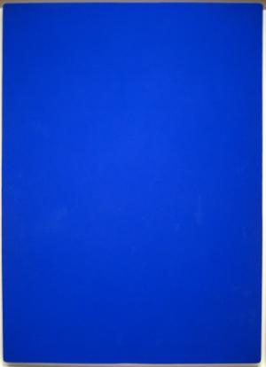 Yves Klein: Blue Monochrome